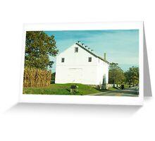 Lancaster PA farmstead Greeting Card