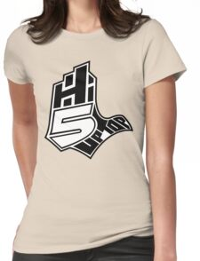 Hi-5 Up Top Womens Fitted T-Shirt