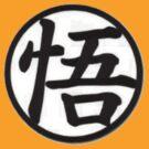 Goku Kanji Symbol (Shirt & Stickers) by charalanahzard