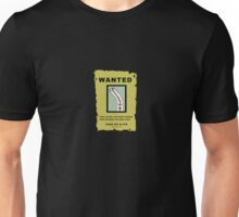 WANTED: The Straw That Broke The Camels Back Unisex T-Shirt