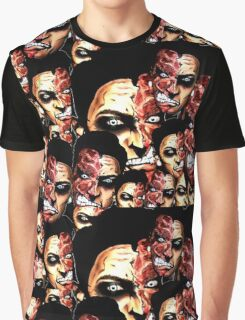 2 faces Graphic T-Shirt