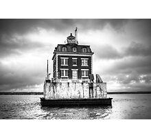 New London Ledge Lighthouse Photographic Print
