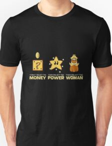 Mario - Money Power Women Unisex T-Shirt