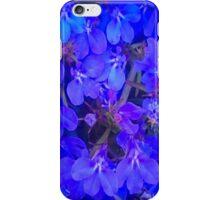 Blue Summer Flowers iPhone Case/Skin