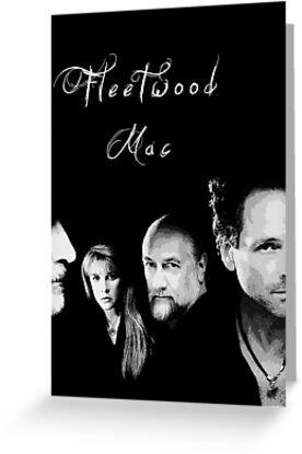 Fleetwood Mac Faces by Elliott Butler