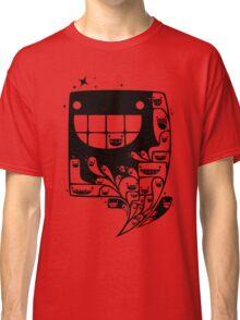 Happy Inside - 1-Bit Oddity - Black Version Classic T-Shirt