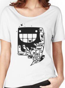 Happy Inside - 1-Bit Oddity - Black Version Women's Relaxed Fit T-Shirt