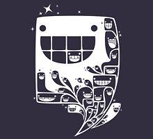 Happy Inside - 1-Bit Oddity - White Version Unisex T-Shirt