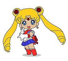 Sailor Moon Photographic Print