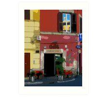 Rome - Tabacchi Art Print