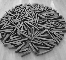 Richard Long - South Bank Circle by Graham Geldard