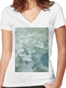 Veiled Beauty Women's Fitted V-Neck T-Shirt