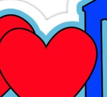 I ♥♥ DW Sticker