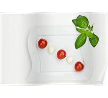 Tomato Mozzarella Poster