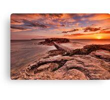 Bare Island Sunset Canvas Print