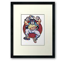 Casey Jones TMNT Teenage Mutant Ninja Turtles Shirt Framed Print