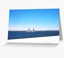 Yachts  22 12 12  Three -  Cool Greeting Card