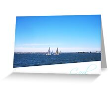 Yachts  22 12 12  Three -  Cool Greeting Card