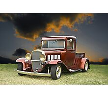 1933 Chevrolet Pick-Up Photographic Print