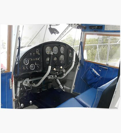 Analogue Cockpit Poster