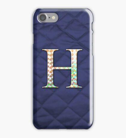 Hologram (Blue) iPhone Case/Skin
