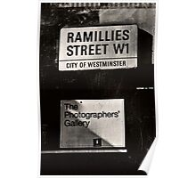 Photographers Gallery Poster