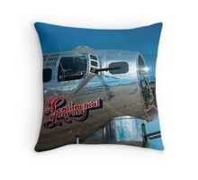 Sentimental Journey Throw Pillow