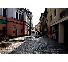 Krakow Backstreets Photographic Print