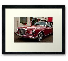 Studebaker Gran Turismo Framed Print