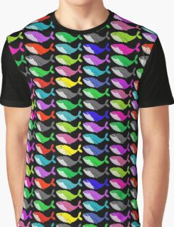 Rainbow whales Graphic T-Shirt