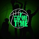 It&#x27;s Game Time - Green by Adamzworld