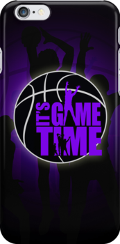 It's Game Time - Purple by Adamzworld