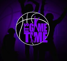It's Game Time - Purple by Adamzworld