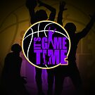 It&#x27;s Game Time - LA Lakers Color (Special Edition) by Adamzworld