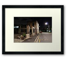 Demolition Derby Framed Print
