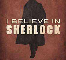I believe in SHERLOCK HOLMES by koroa