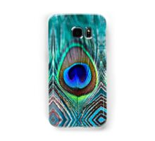 Peacock Feather Samsung Galaxy Case/Skin