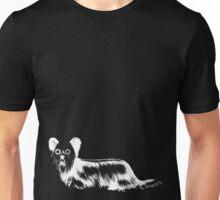 Fluffy 01 - White Unisex T-Shirt