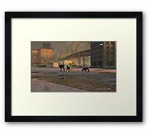 The Fellowship of Dogs Framed Print