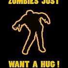Zombie Hug Yellow by ZombieBubble