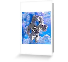 Astronaut:  I just want to go home Greeting Card