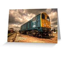 The BR class 20 Greeting Card