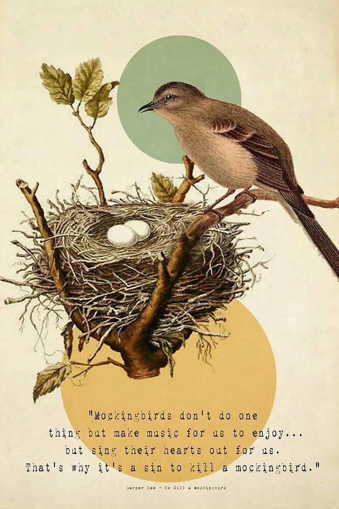 To Kill A Mockingbird by Carol Knudsen