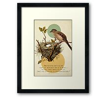 To Kill A Mockingbird Framed Print