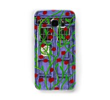 Tardis with Roses Samsung Galaxy Case/Skin