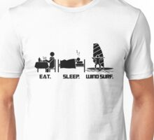 Eating. Sleeping.Wind Surfing T-Shirt Unisex T-Shirt