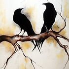 2 crows by mariakitano