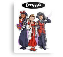 Emma is Clueless Metal Print