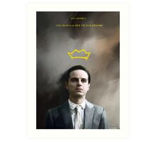Moriarty portrait Art Print