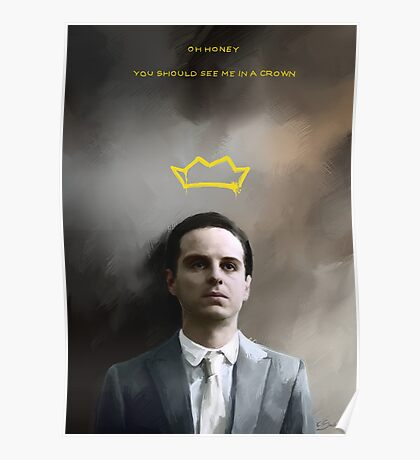 Moriarty portrait Poster